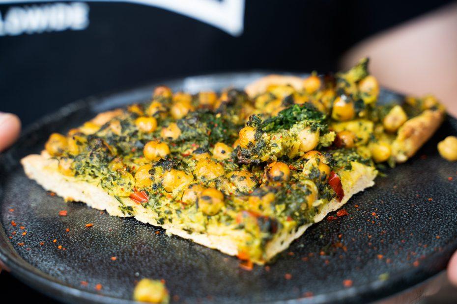 Vegane Proteinpizza