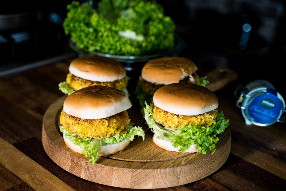 veganer Tofuburger