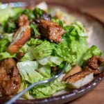 Veganer Ceasar Salad